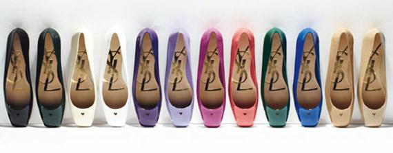 "Yves Saint Laurent Inroduces ""L-O-V-E Ballerinas"""