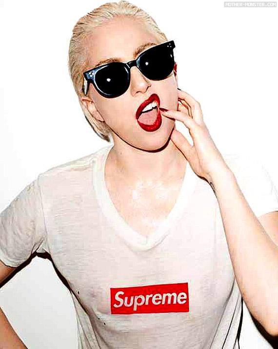 Lady Gaga X Supreme In Purple Magazine - Nitroliciouscom-3429
