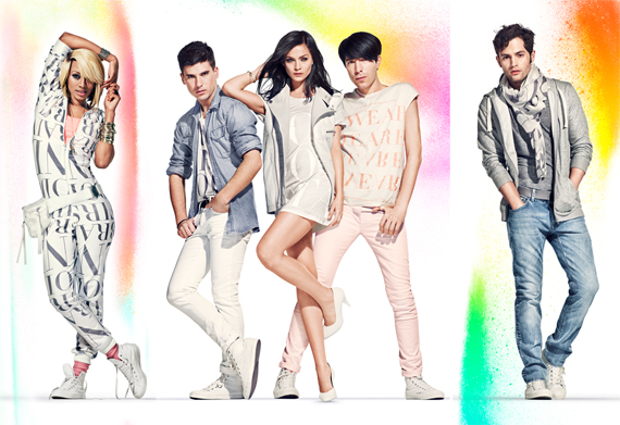H&M Fashion Against AIDS Star Studded Ad Campaign