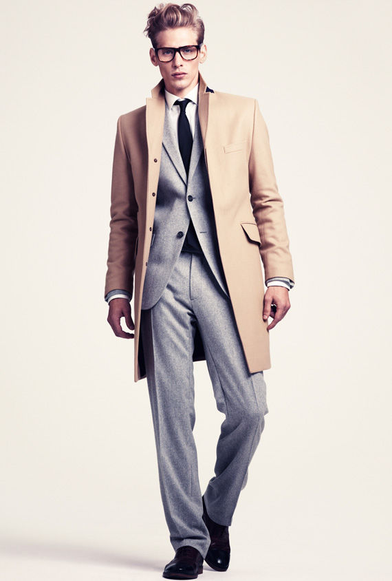 H&M Men's Winter 2011 Lookbook