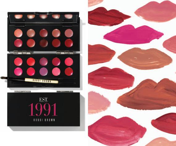 Bobbi Brown 20th Anniversary 1991 Lip Palette