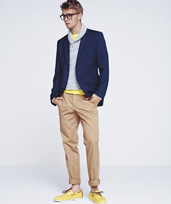 H&m Men's Spring 2012 Lookbook