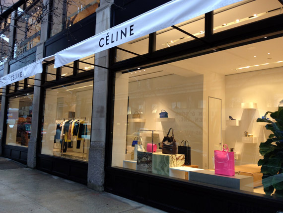 Céline Madison NYC store finally OPENED!
