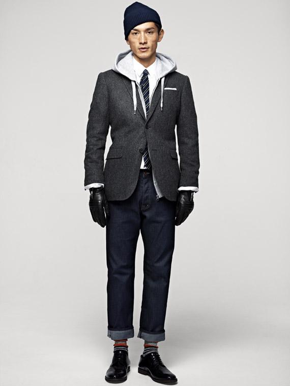 H&M Men's Fall 2012 Lookbook