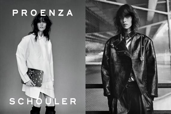 Proenza Schouler Fall/Winter 2012 Ad Campaign ...