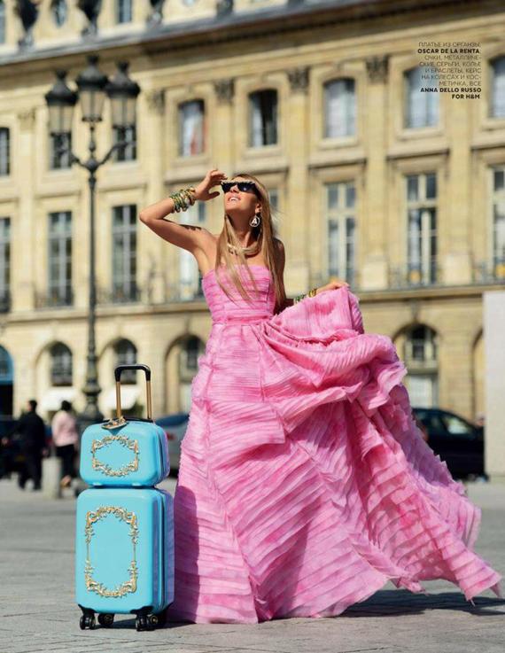 Anna Dello Russo at H&M Accessories Collection Preview