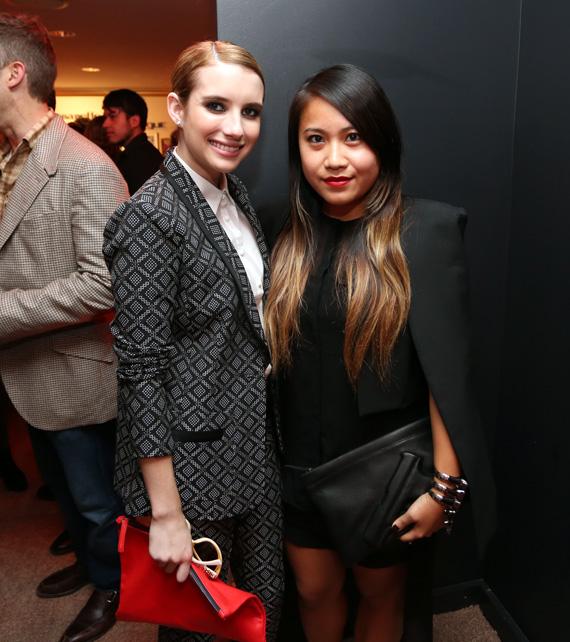Vogue Eyewear & CFDA Event with Emma Roberts & Nanette Lepore
