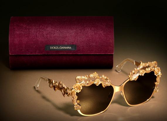 Dolce & Gabbana Sicilian Baroque Eyewear Collection