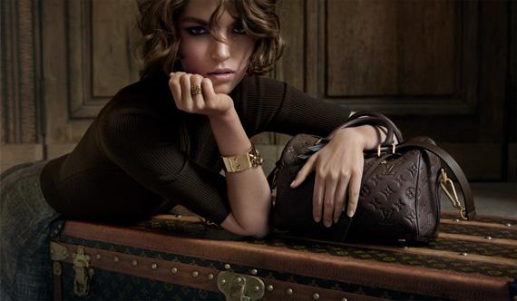 Louis Vuitton L'invitation au voyage Campaign ft. Arizona Muse