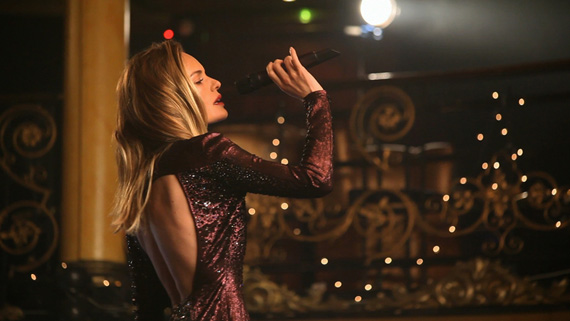 Kate Bosworth for Topshop Christmas Film