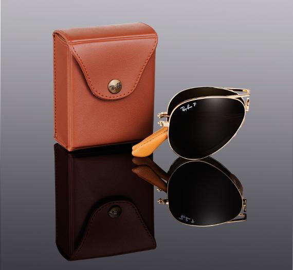 Ray Ban Aviator Folding Ultra Sunglasses Limited Edition