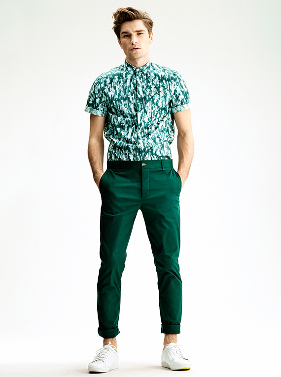 H Amp M Men S Summer 2013 Lookbook Nitrolicious Com
