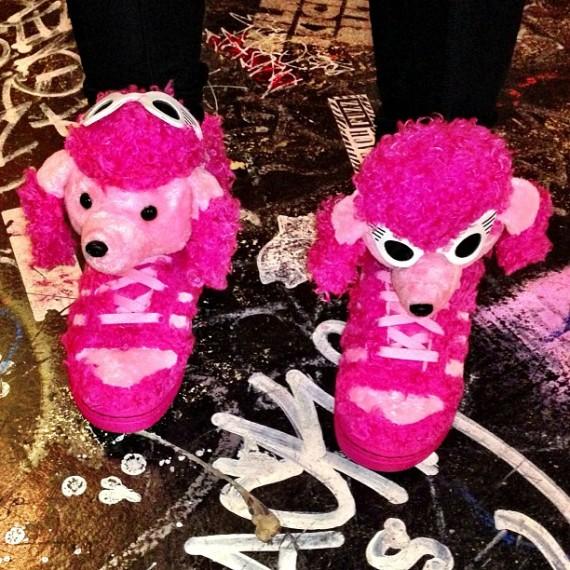 jeremy scott adidas pink