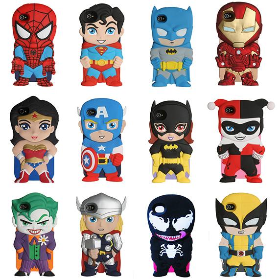 Superhero and Villains iPhone Cases on Shop Jeen - nitrolicious.com