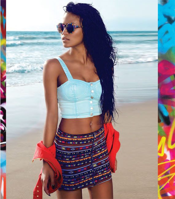 Cassie x Forever 21 'Forever LA' Summer 2013 Capsule Collection