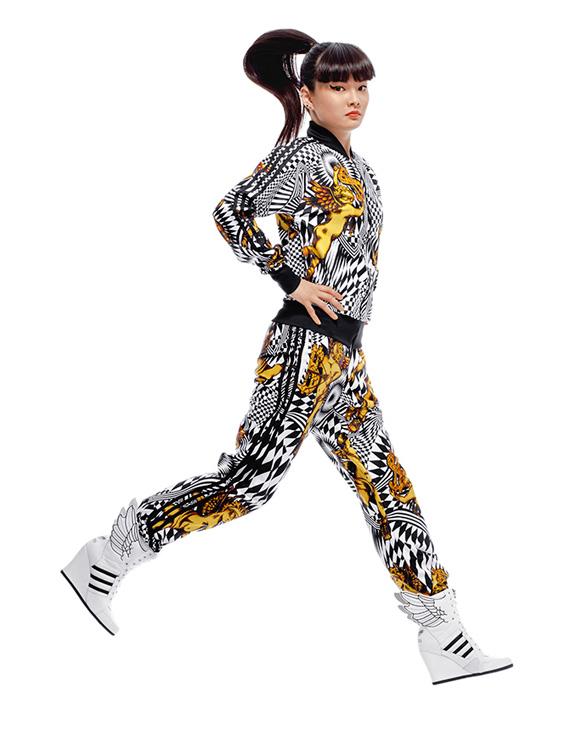 Adidas Jeremy Scott Wedges