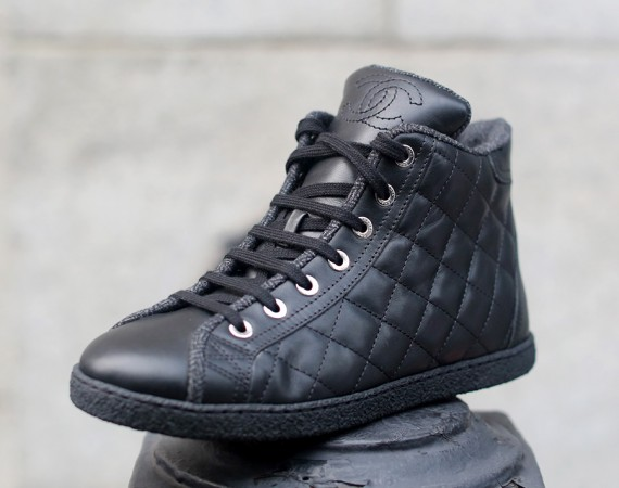 chanel quilted sneaker nitrolicious