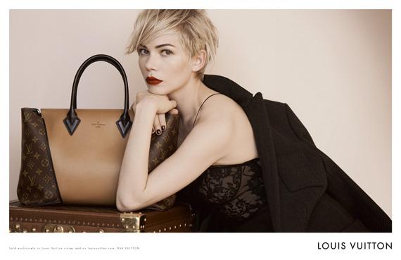 Michelle Williams for Louis Vuitton Fall/Winter 2013 Campaign