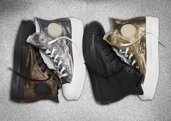 Converse Chuck Taylor All Star Metallic Platform Sneakers