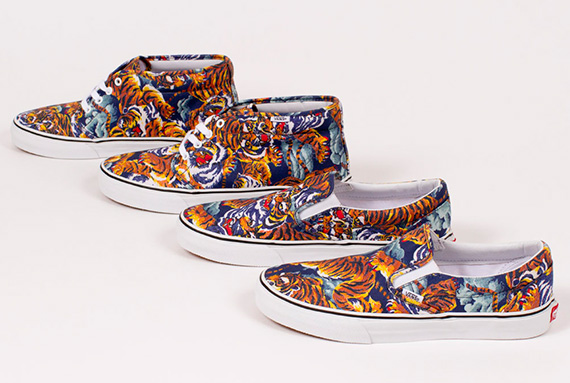 VANS x KENZO Fall/Winter 2013 Collection