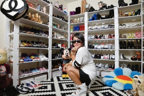 A Peek Of My Shoe Closet On Footwear News