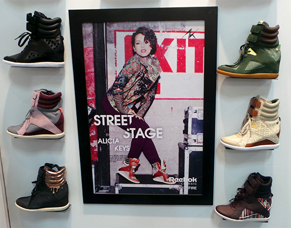 81fc40b92435 Alicia Keys x Reebok Classic Spring 2014 Collection Preview ...