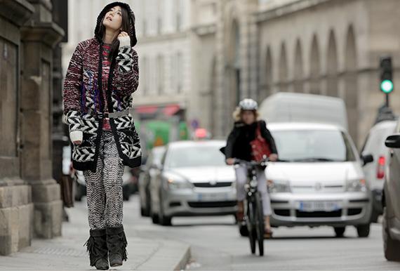 Celebrities Rockin' Isabel Marant pour H&M