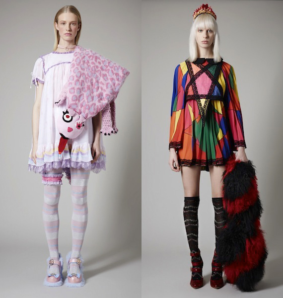 Meadham Kirchhoff for Topshop Lookbook