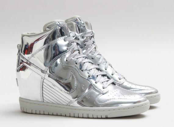 Nike Dunk Sky Hi Liquid Silver Buy  8b175c64cf80