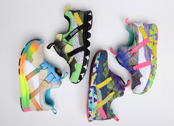 90e6db0db81f The style that was chosen for the Girls of Blaze Disc Collection was  selected by Solange as it is one of her favorite heritage running styles.  The PUMA Disc ...