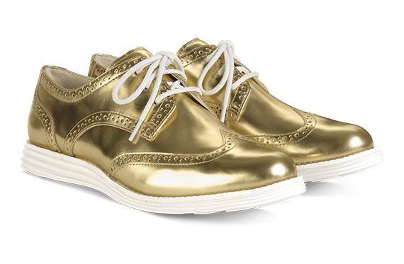 Cole Haan Metallic Gold \u0026 Silver