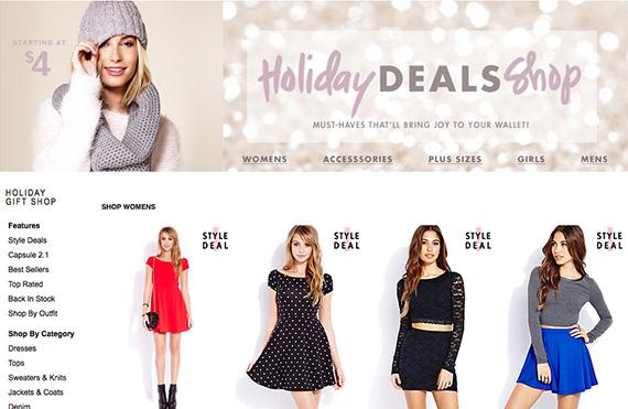 Forever 21 Holiday 2013 Deals - nitrolicious.com