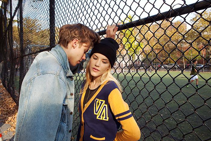 Ashley Smith x RVCA Fall 2014 Campaign