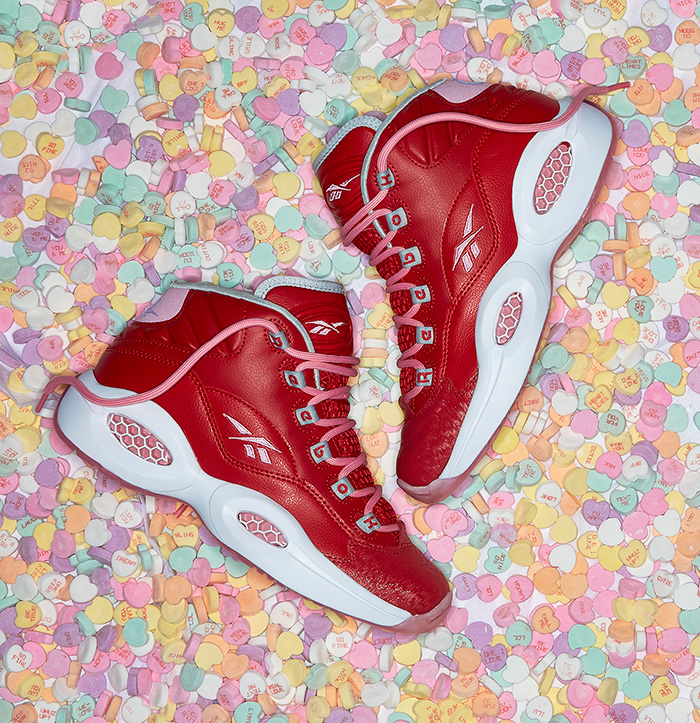 Reebok Classic Question Mid 'Valentine's Day'