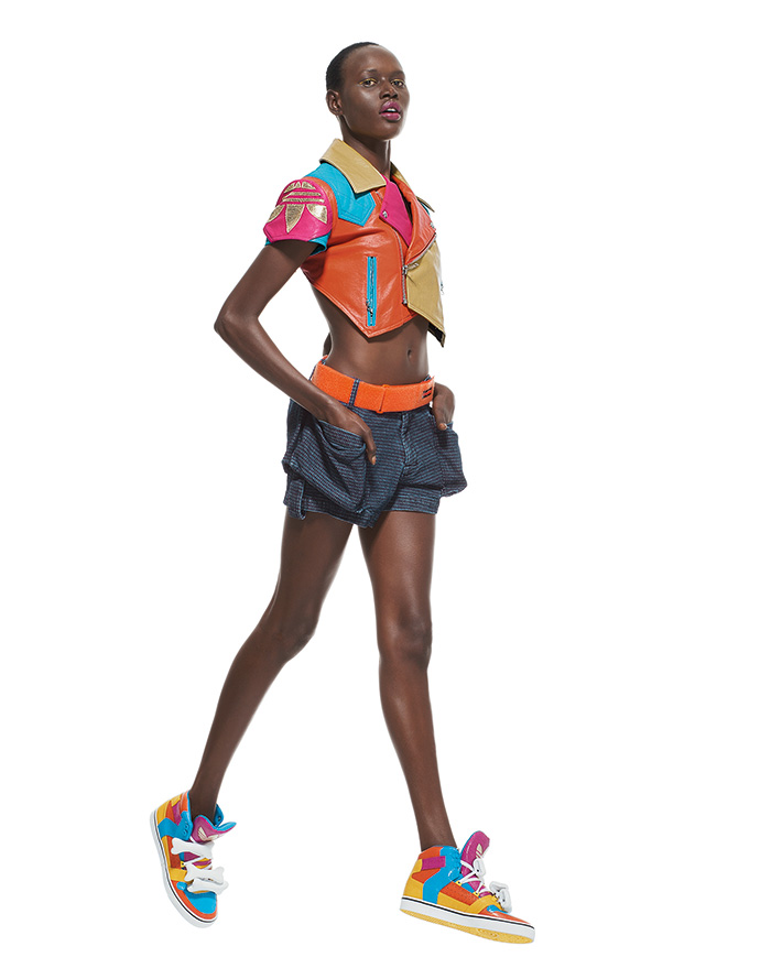 adidas jeremy scott bones multicolor