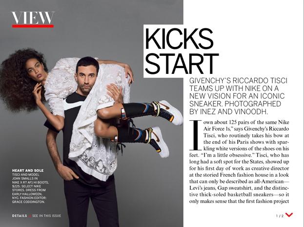 Riccardo Tisci x Nike Air Force 1 Boot
