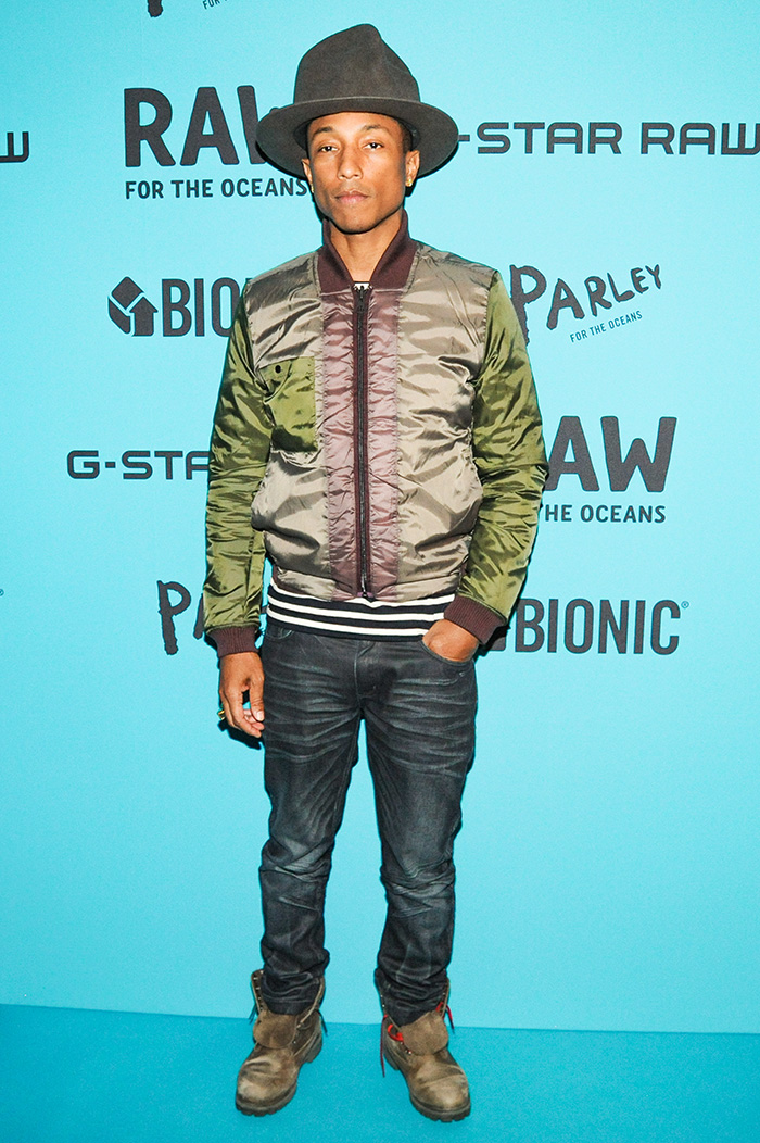 pharrell williams x g star raw for the oceans collaboration. Black Bedroom Furniture Sets. Home Design Ideas
