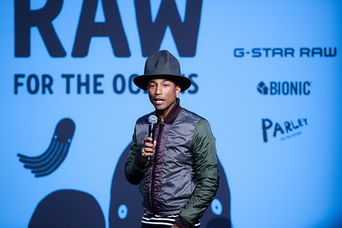 "Pharrell Williams x G-Star ""RAW for the Oceans"" Collaboration"