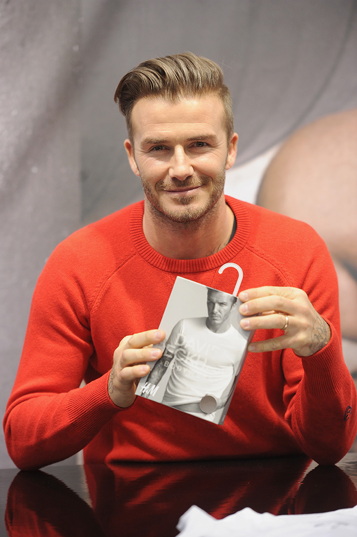 Meet and Greet with David Beckham at HandM Times Square - nitrolicious.