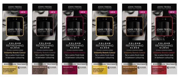 john frieda colour refreshing gloss nitrolicious - Color Refreshing Gloss