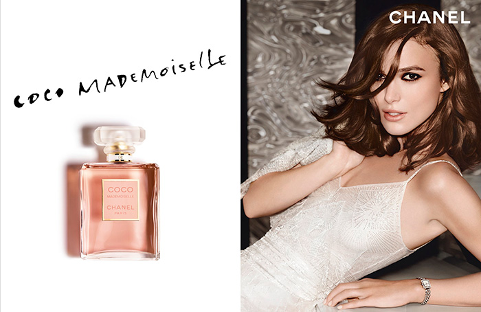 keira knightley for chanel coco mademoiselle campaign. Black Bedroom Furniture Sets. Home Design Ideas