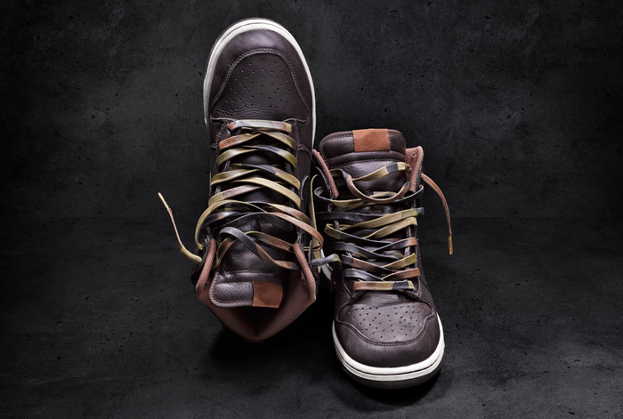 AGLIT ITALY Leather Laces