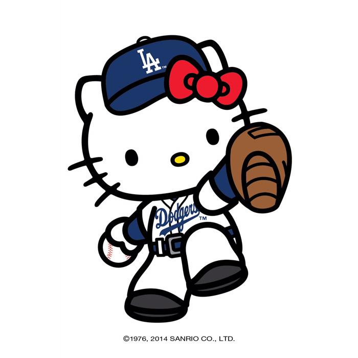 Hello Kitty Fan : Hello kitty major league baseball collection