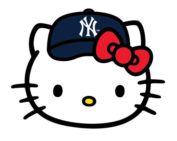 Hello Kitty x Major League Baseball 2014 Collection