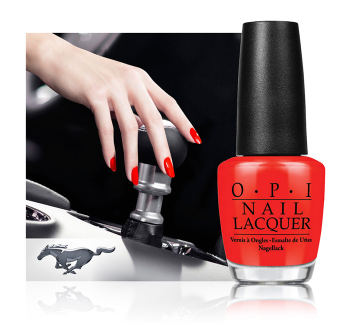 OPI x Ford Mustang 50th Anniversary Collection