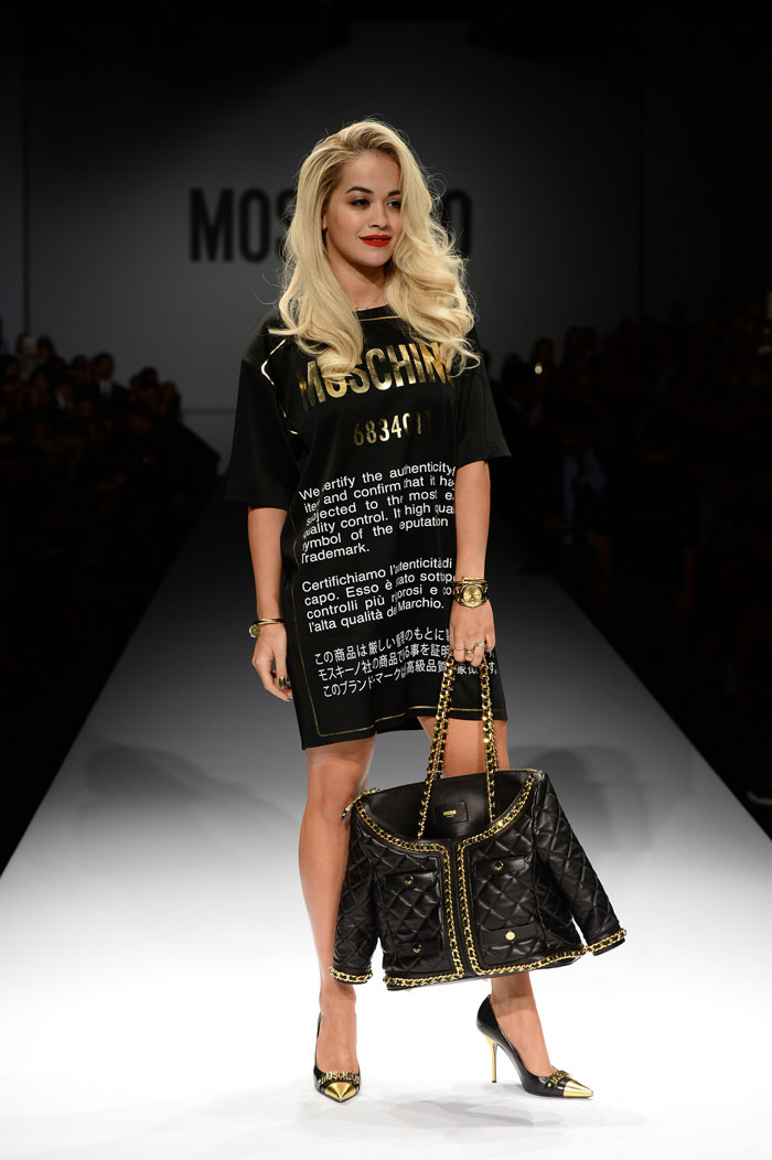 Rita-Ora-at-Moschino-Fashion-Show
