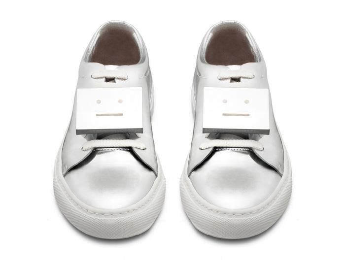 Acne Studios Shiny Metallic Spring/Summer 2014 Shoes