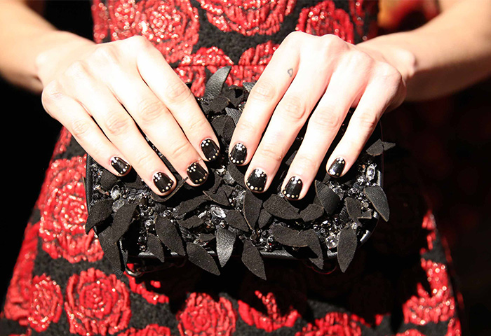 essie at NYFW Fall 2014 Nail Trends