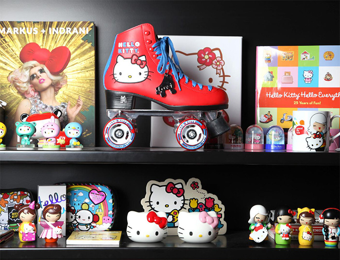 Hello Kitty x Moxi Roller Skates