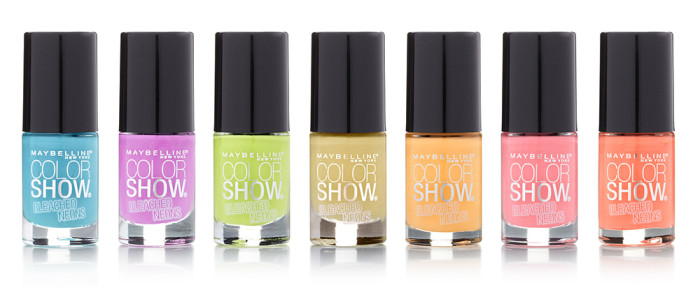 Maybelline New York Color Show Bleached Neons Collection